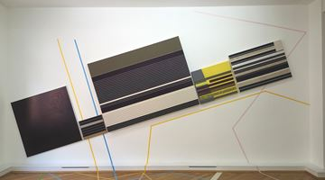 Contemporary art exhibition, Herbert Hinteregger, Untitled (gab nach, sodass sie zu fallen drohte) at Bernhard Knaus Fine Art, Frankfurt