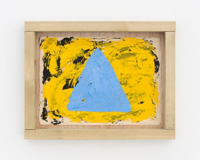 Sat G (triangle) by Alvaro Barrington contemporary artwork