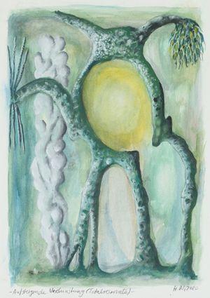 Aufsteigende Verdunstung (Totalreservate) by Hartmut Neumann contemporary artwork