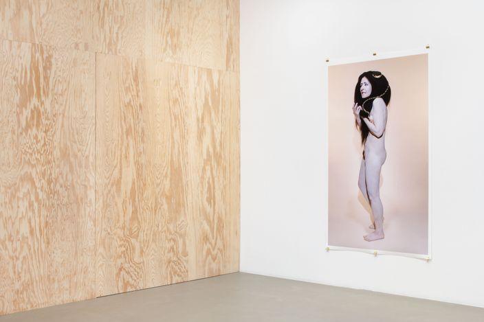 Exhibition view: Dominique Gonzalez-Foerster,lachambre humaine&la planète close, Galerie Chantal Crousel, Paris (3 September–9 October 2021). Courtesy the artist and Galerie Chantal Crousel, Paris. Photo: Martin Argyroglo.