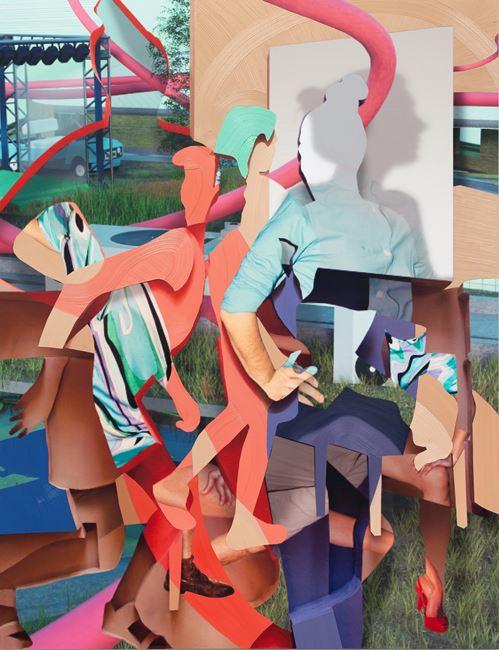 Random Winner by Pieter Schoolwerth contemporary artwork