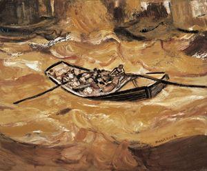 The Yellow River (No.8) by Duan Zhengqu contemporary artwork