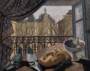 Il balcone (La fenetre) by Gino Severini contemporary artwork