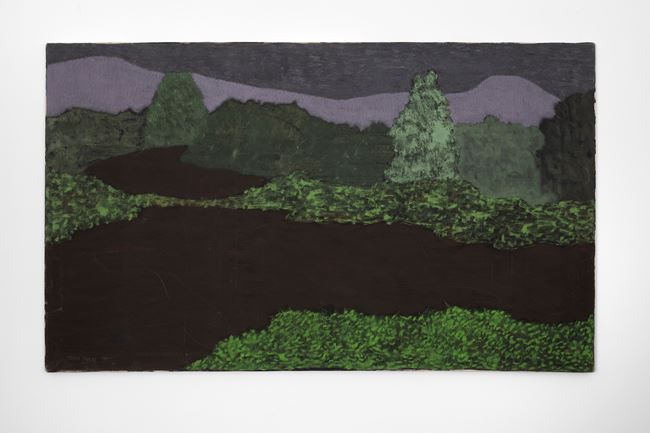 Dark Spring Landscape by March Avery contemporary artwork