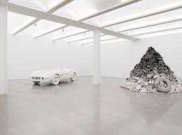 "Daniel Arsham<br><em>3018</em><br><span class=""oc-gallery"">Perrotin</span>"