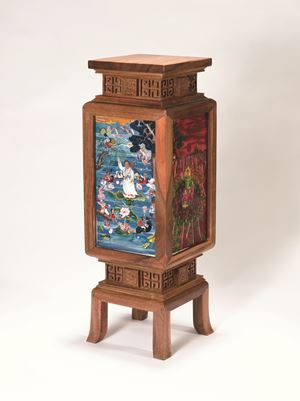 Four Seasons Lantern 四季宮燈 by Liu Dahong contemporary artwork