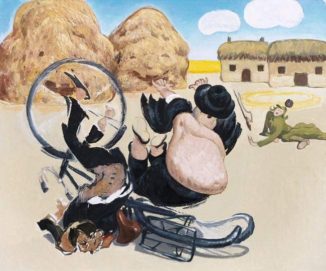 Traitors by Wang Xingwei contemporary artwork
