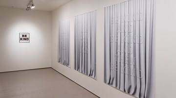 Contemporary art exhibition, Mary-Louise Browne, White Satin at Bartley & Company Art, Wellington