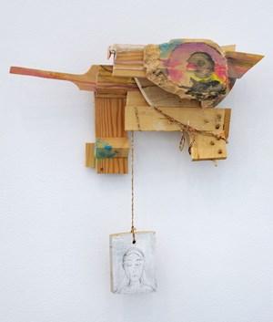 Untitled by Róza El-Hassan contemporary artwork