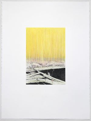 Shoegazer (wharf) by Andrew Browne contemporary artwork
