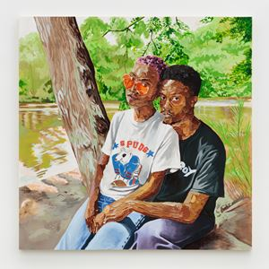 Kiante and Charletta by Gerald Lovell contemporary artwork