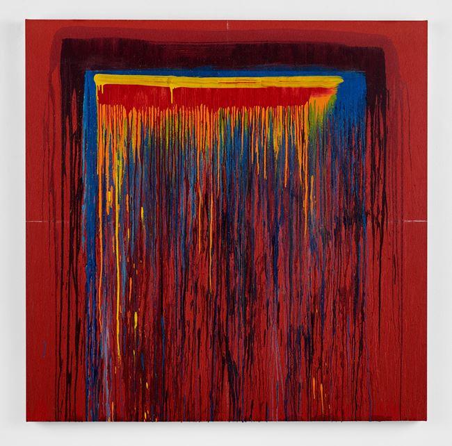 Considering Rothko #2 by Pat Steir contemporary artwork