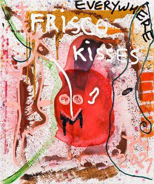DAS FALSCHE TESTAMENT DER ROTEN ZORA DE LOLA! by Jonathan Meese contemporary artwork painting