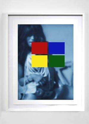 Blue Notes (Claudia Lennear #1) by Carrie Mae Weems contemporary artwork