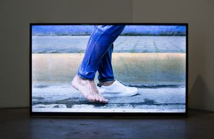 Hey I'm Walking Here by James Clar contemporary artwork