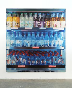 Airport by Luca Grimaldi contemporary artwork