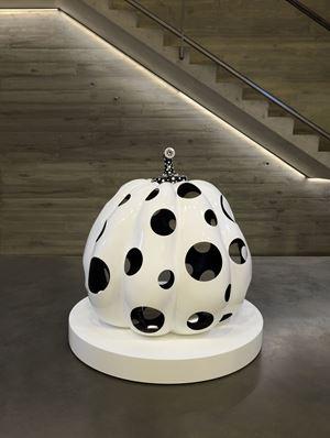 Pumpkin by Yayoi Kusama contemporary artwork sculpture