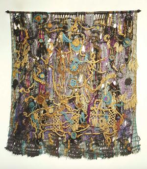 Weaving Work No. 4 by Santi Wangchuan contemporary artwork