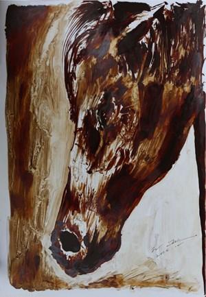 Turning a Blind Eye by Sun Xun contemporary artwork