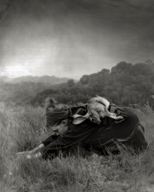 Way of the Hare 2 by Beth Moon contemporary artwork