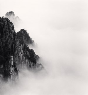Huangshan Mountains, Study 6, Anhui, China, 2008 by Michael Kenna contemporary artwork