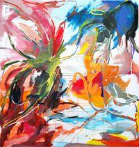 Summer Symposium no.2 by Wang Xiyao contemporary artwork painting, drawing