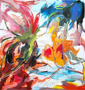 Summer Symposium no.2 by Wang Xiyao contemporary artwork