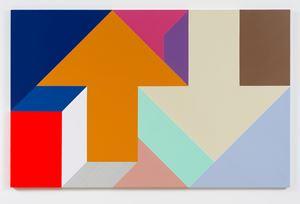 Arrow Painting 46 by Tony Tasset contemporary artwork