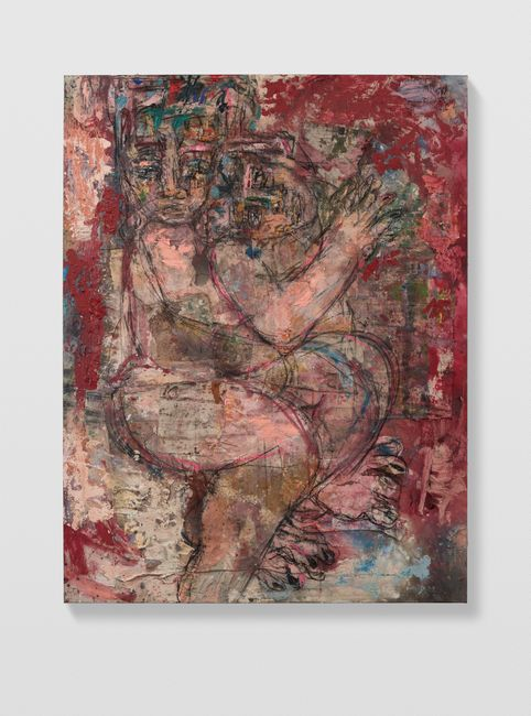 Couples 1 (red) by Daniel Crews-Chubb contemporary artwork
