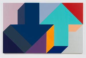 Arrow Painting 45 by Tony Tasset contemporary artwork