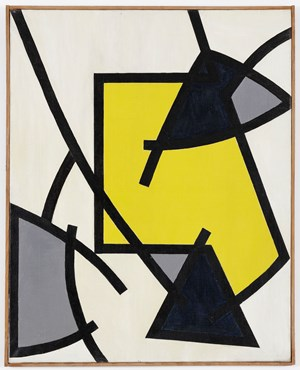 Composition dynamique by Jesús Rafael Soto contemporary artwork