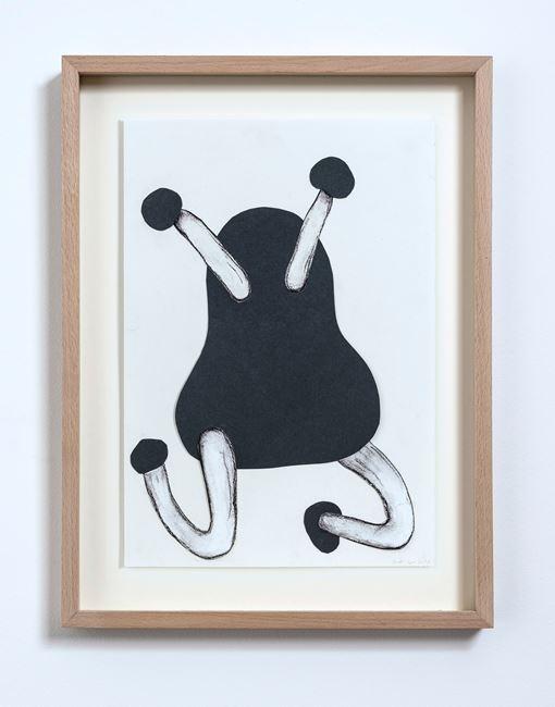 Dark Collage (No.13) by Judith Egger contemporary artwork
