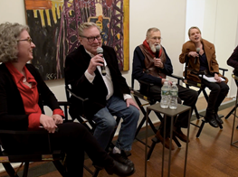 In Conversation: Allan Kaprow. Paintings New York
