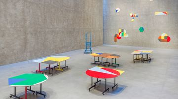 Contemporary art exhibition, Amalia Pica, Round Table (and other forms) at KÖNIG GALERIE, Berlin