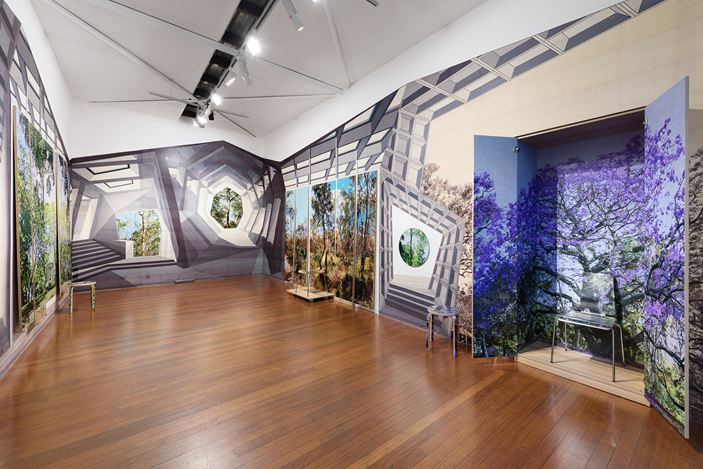 installation view, Gary Carsley: ARBOUR ARDOUR, Roslyn Oxley9 Gallery, Sydney (30 October – 28 November 2020). photo: Luis Power