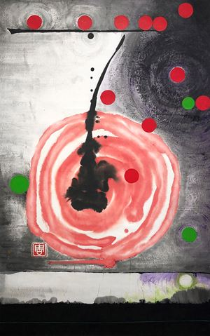 The Universe is in My Mind 7 by Irene Chou contemporary artwork