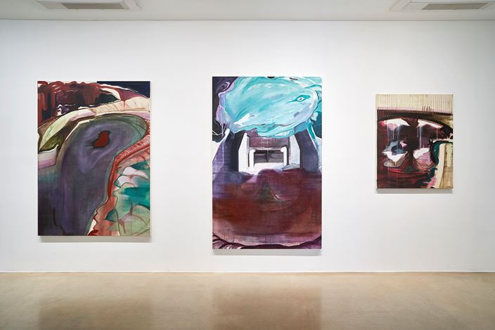 Exhibition view: Seeun Kim, Pitman's Choice,ONE AND J. Gallery, Seoul (17 October–17 November 2019). CourtesyONE AND J. Gallery. Photo: Euirock Lee.