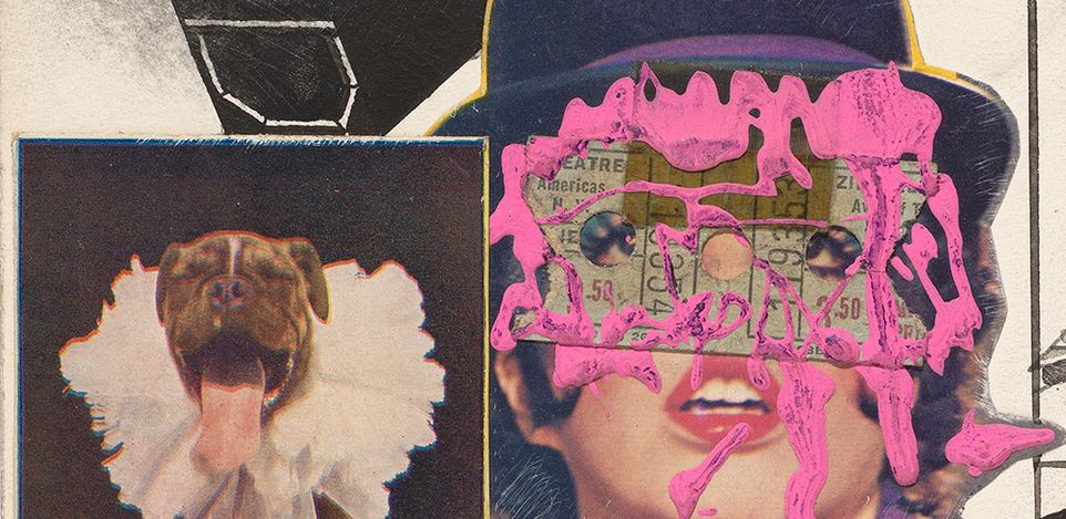 Ray Johnson,Untitled (Liza Minnelli with Pink Paint) (n.d.) © Ray Johnson Estate. Courtesy David Zwirner.