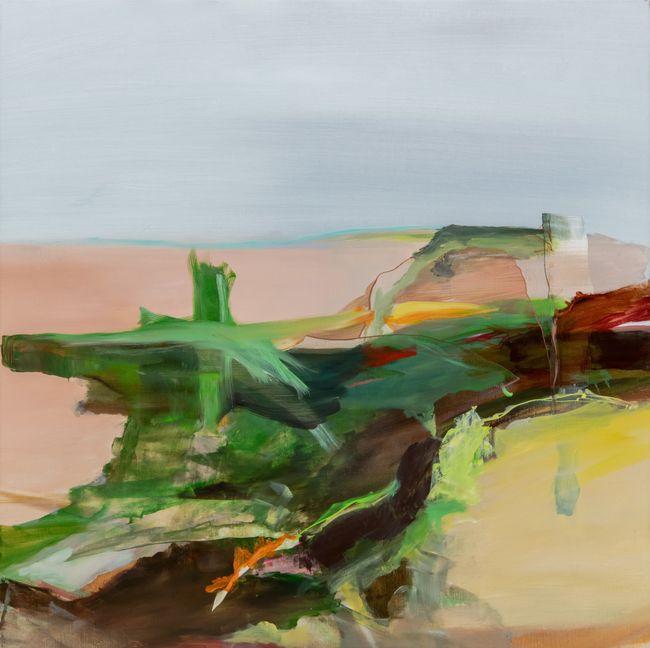 bear crossing by Hollis Heichemer contemporary artwork