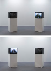 Songs of My Childhood by Jimmie Durham contemporary artwork sculpture, moving image
