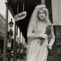 Bride. New Orleans, Louisiana by Rosalind Fox Solomon contemporary artwork photography, print
