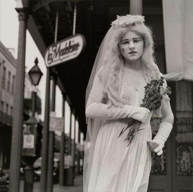 Bride. New Orleans, Louisiana by Rosalind Fox Solomon contemporary artwork