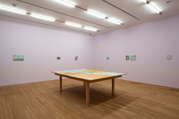 Exhibition view:Francis Alÿs,Wet feet __ dry feet: borders and games, Tai Kwun Contemporary (28 October 2020–28 February 2021). Courtesy Tai Kwun Contemporary.