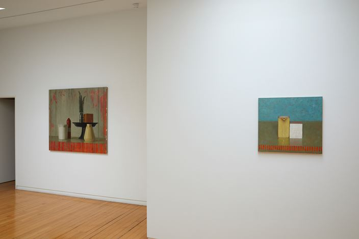 Exhibition view: Jude Rae, Recent Paintings, Two Rooms, Auckland (26 September–26 October 2019). Courtesy Two Rooms.