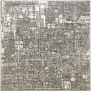 study for ancient artifact by Martin Poppelwell contemporary artwork
