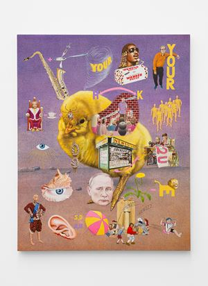 Mnemonic device #2, Third Stone From the Sun by Jim Shaw contemporary artwork