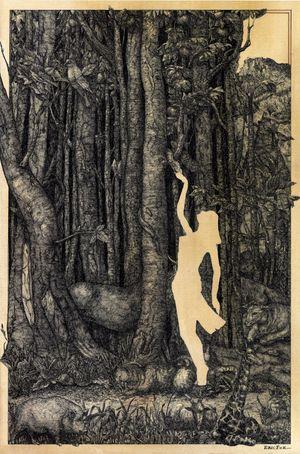 Forbidden Territory by Eric Fok contemporary artwork