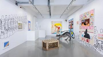 Contemporary art exhibition, Tschabalala Self, Bodega Run at Pilar Corrias, London