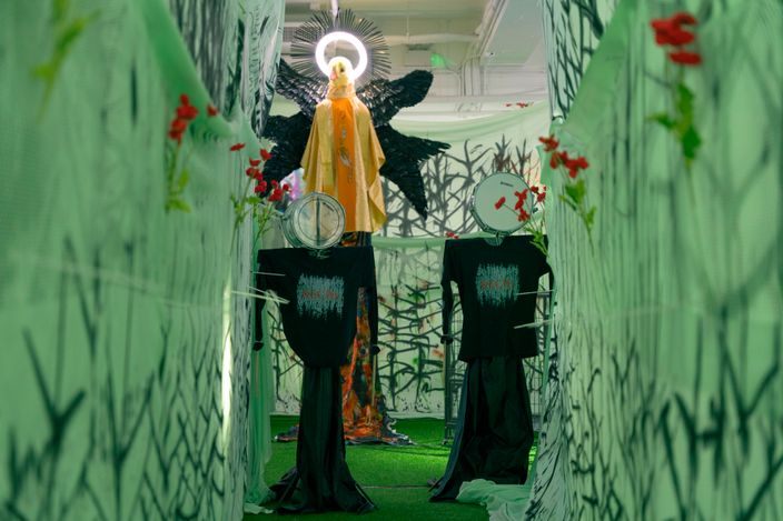 Contemporary art exhibition, Chen Pin Tao aka AznGothBoy, Violin Makers and Seamstresses I: The Caveman, The Literati, The Iconoclast at de Sarthe, de Sarthe, Hong Kong, SAR, China