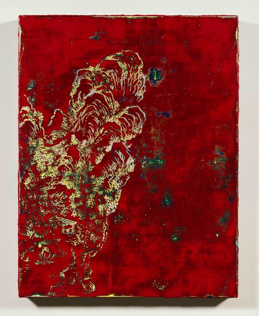 Lacqueresque Landscape Exercise (Red) by Su Meng-Hung contemporary artwork